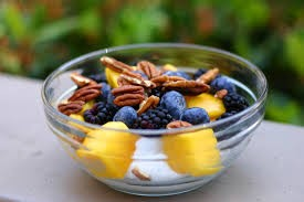 Plain Yogurt with Nuts & Fruit- Carrington Nutriton